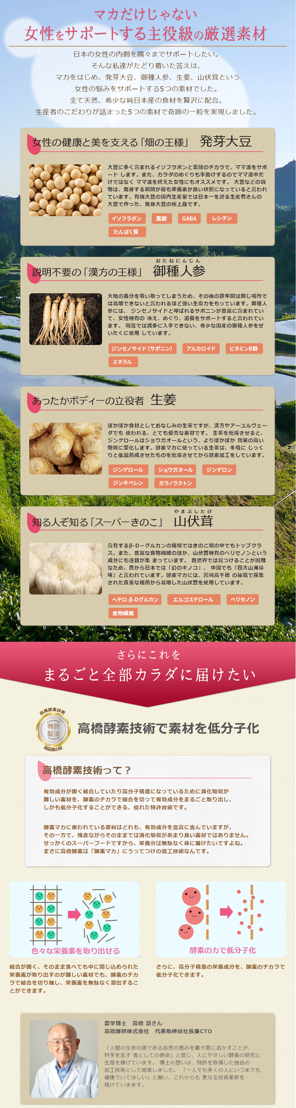 ママ活・妊活サプリ【酵素マカ】の効果と実績について04